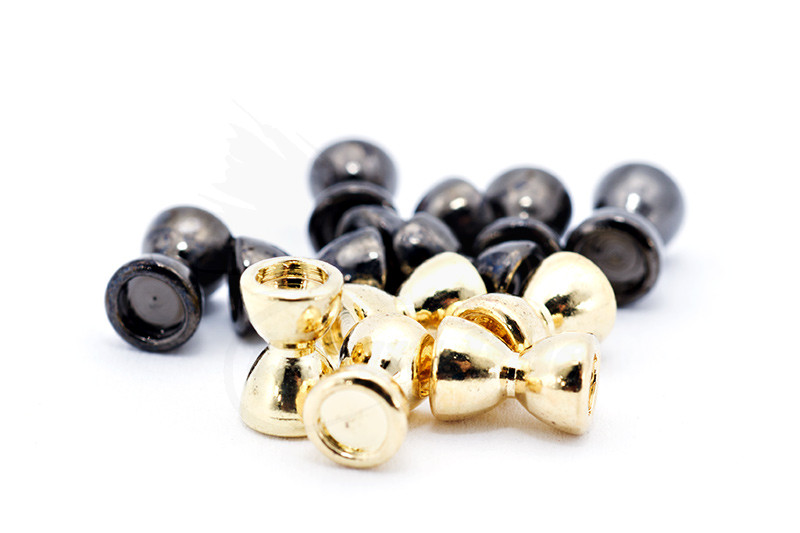 Troutline Brass Dumbbell Twin Concave Eyes