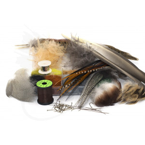 Troutline Fly Tying Kit for Trout Dry Flies