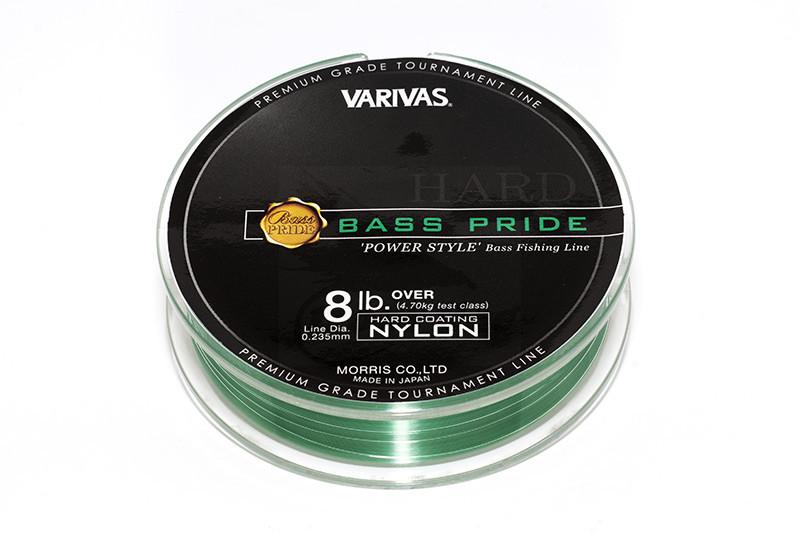 Varivas bass pride premium grade tournament fishing line for Bass pro fishing line