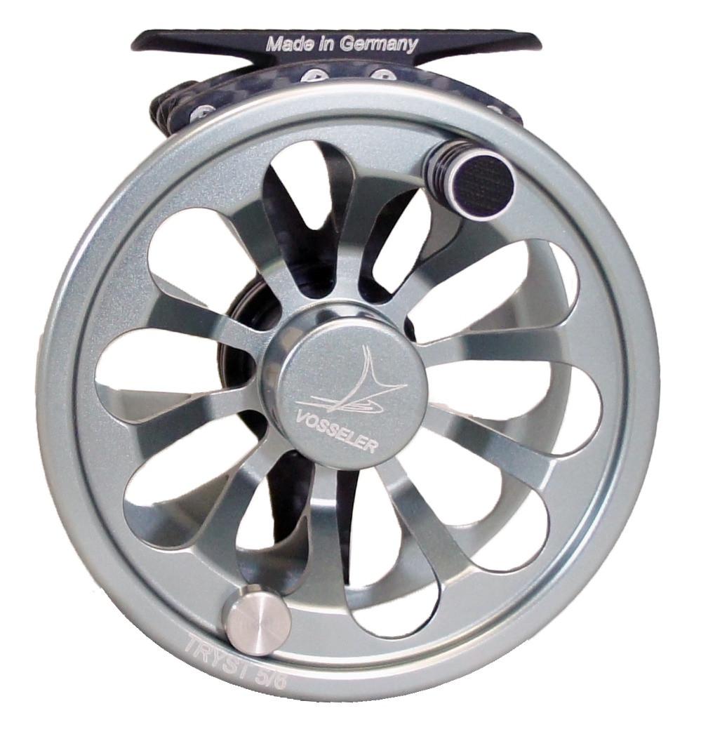 Vosseler tryst fly fishing reel aluminum for Fly fishing reels